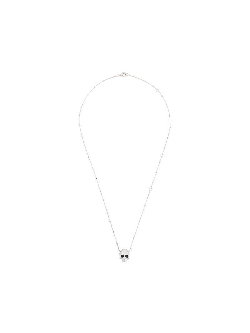 locket necklace - Metallic Kasun London