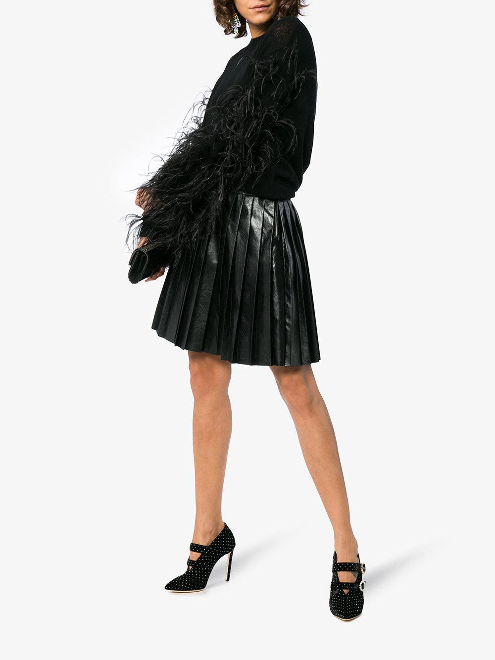 c2770e78258 Lyst - Jimmy Choo Black Larissa 100 Velvet Booties in Black