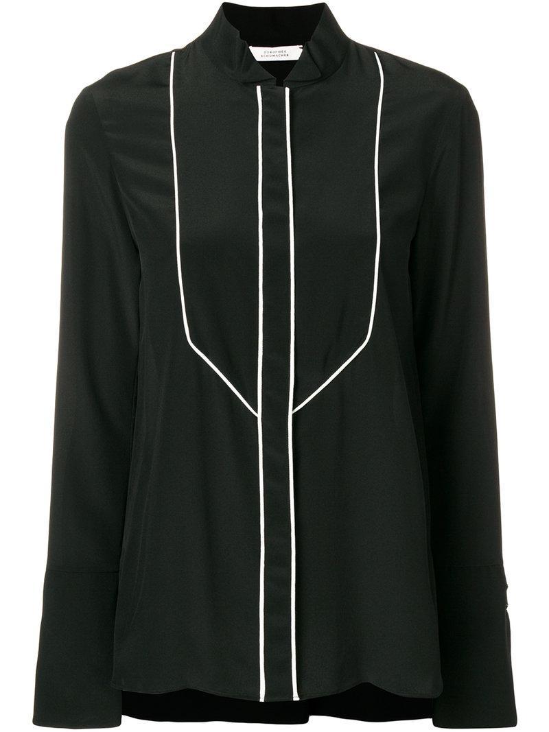 Dorothee Schumacher button bib shirt Professional Sneakernews IAGGa