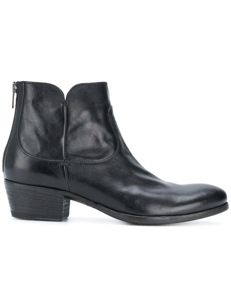 short chelsea boots - Black Pantanetti UkrJqiVos