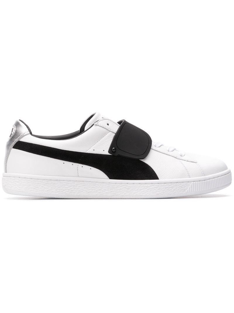1973ee1115a491 Lyst - Karl Lagerfeld Suede X Karl Langerfeld Low-top Sneakers in White