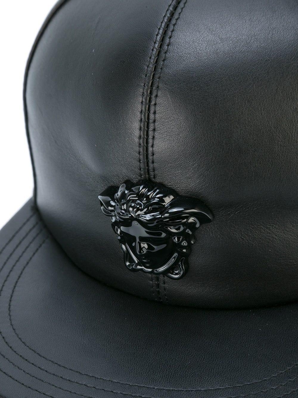 Baseball Versace Pour De Medusa Noir Homme Casquette Lyst Coloris En c35RLqAj4