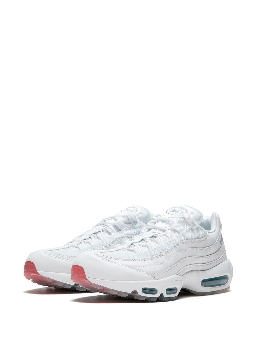 c24fe7922f Nike Air Max 95 Low Top Sneakers in White for Men - Lyst