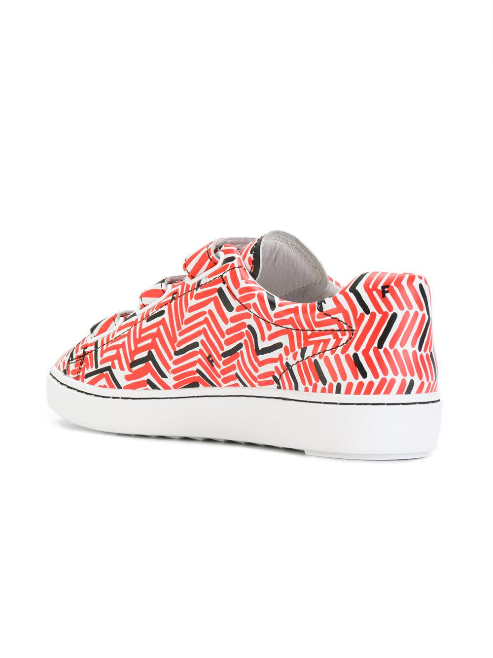 touch-strap printed sneakers - Multicolour Ash K5d8dQr