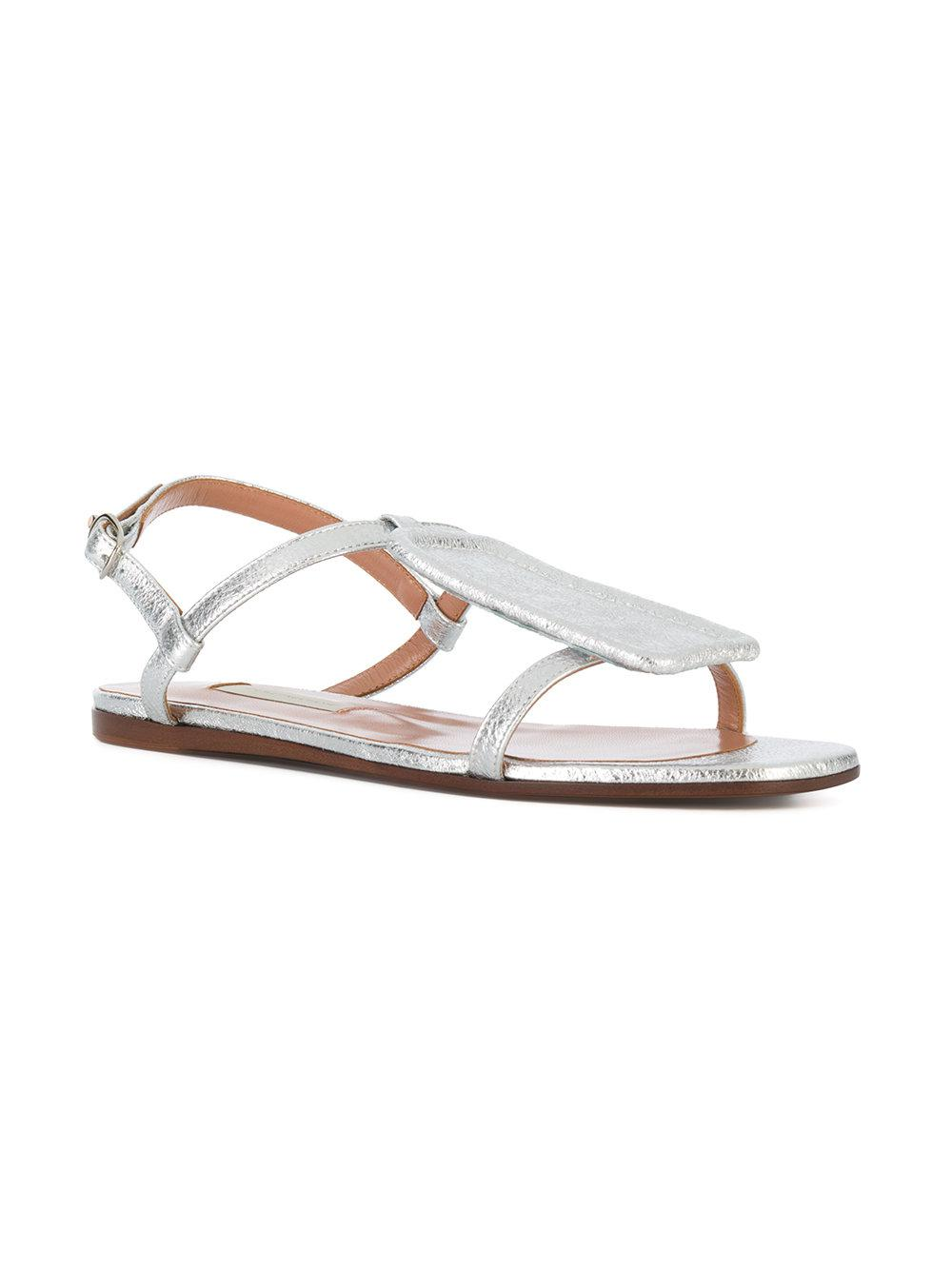 laminated sandals - Metallic L'autre Chose 3f8Ha1