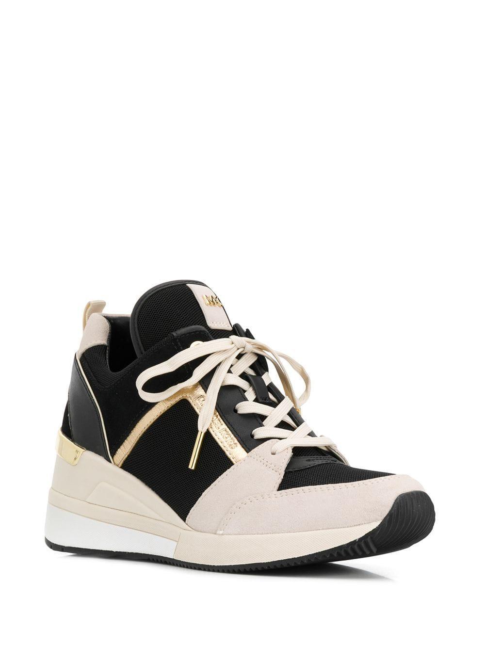 e3a000068ef Lyst - MICHAEL Michael Kors Georgie Sneakers in Black
