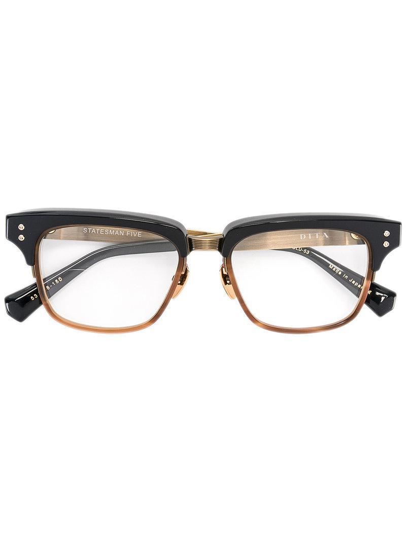 48a819ca1922 Lyst - Dita Eyewear Statesman Five Glasses in Black