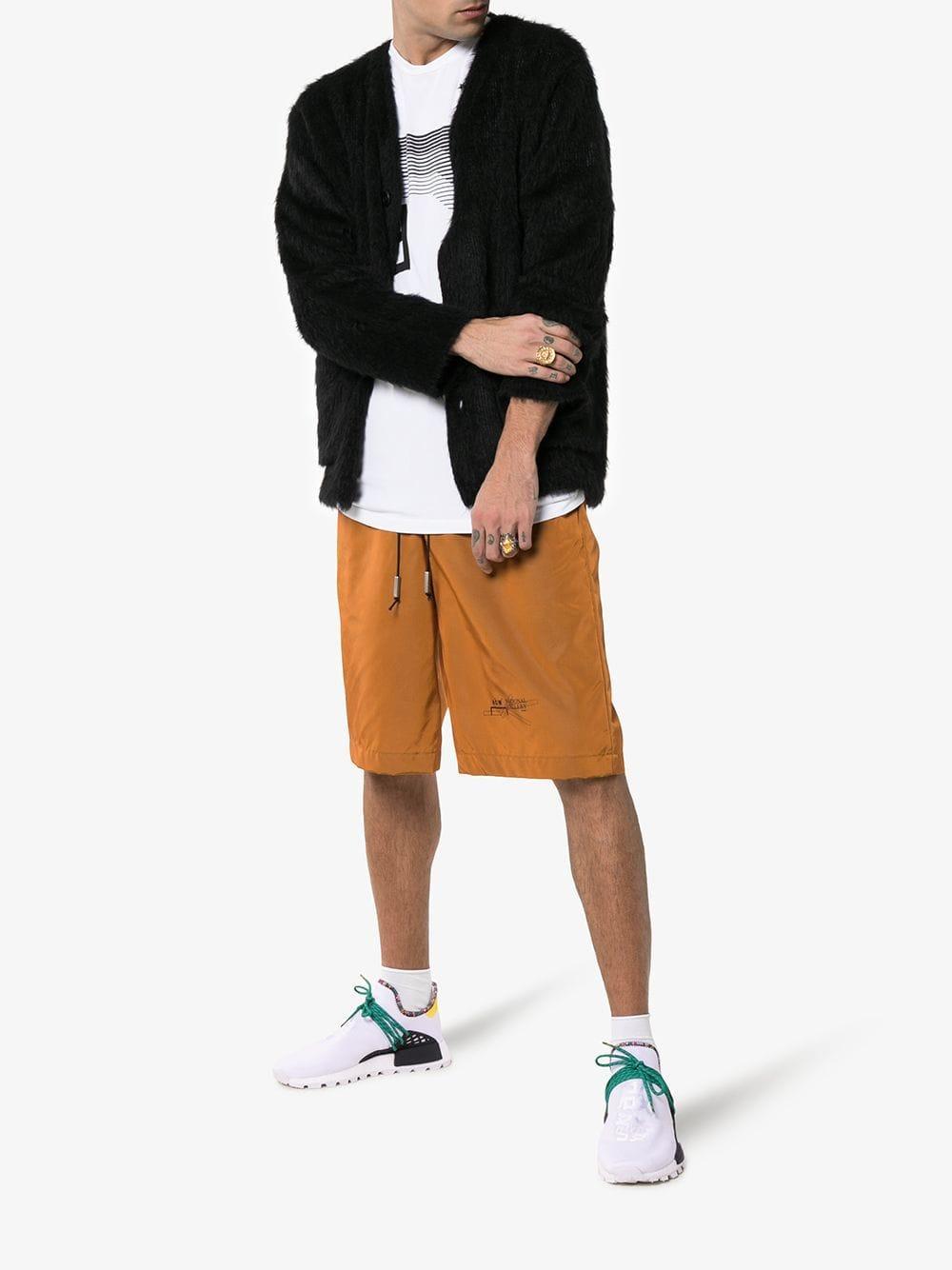 eba20c829 adidas X Pharrell Williams White Human Body Nmd Sneakers in White for Men -  Lyst