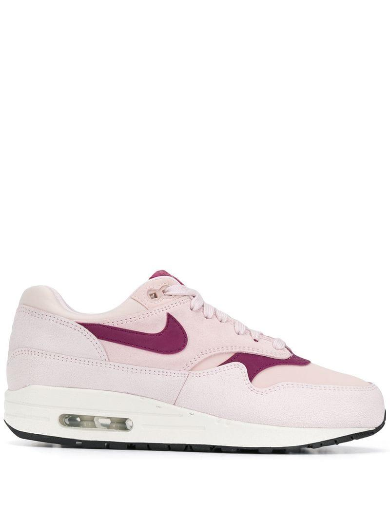 2eeac829c5b6e Lyst - Nike Air Max 1 Sneakers in Pink