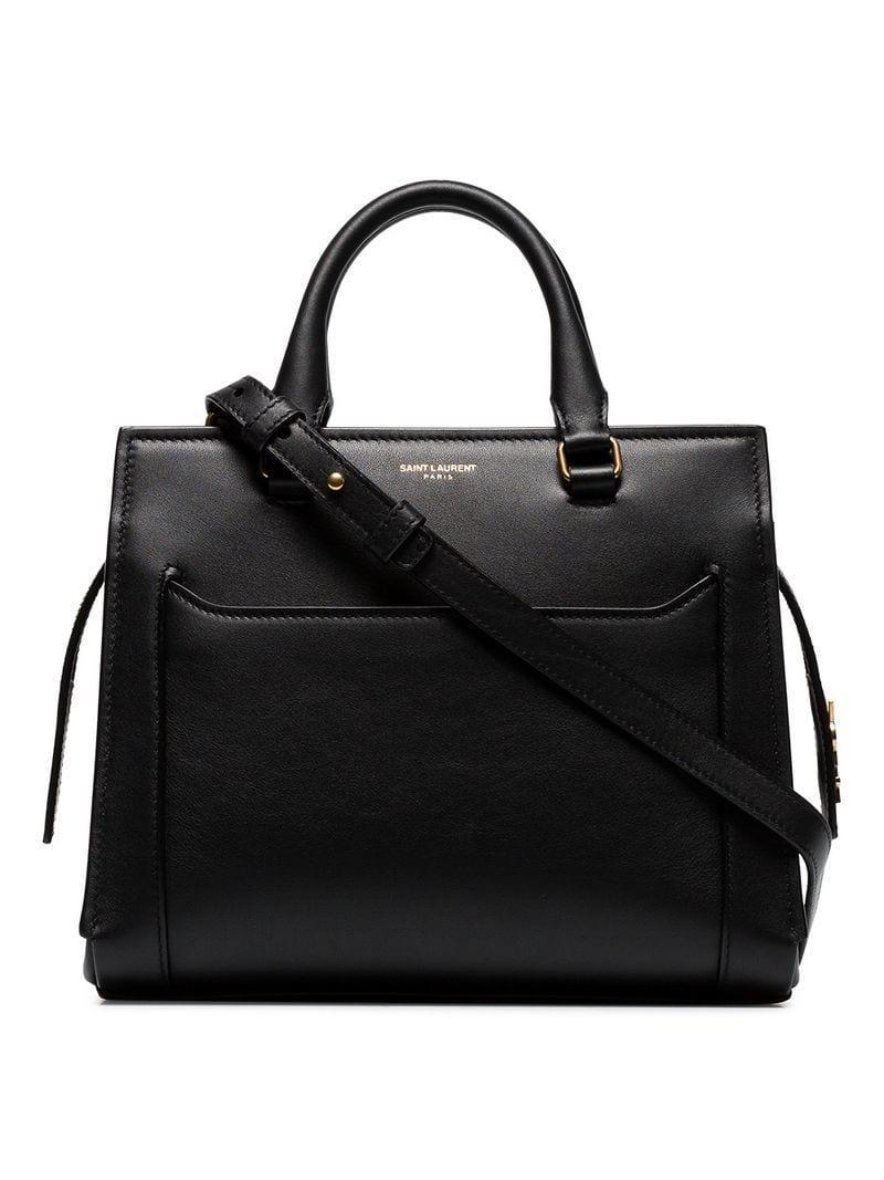 890e922ba4ba Lyst - Saint Laurent Eastside Baby Cabas Shoulder Bag in Black