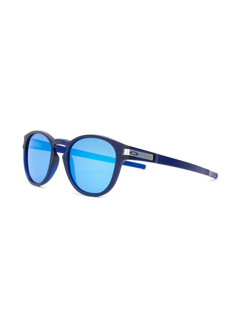 3d45296e51f2c Lyst - Lunettes de soleil Latch Oakley pour homme en coloris Bleu