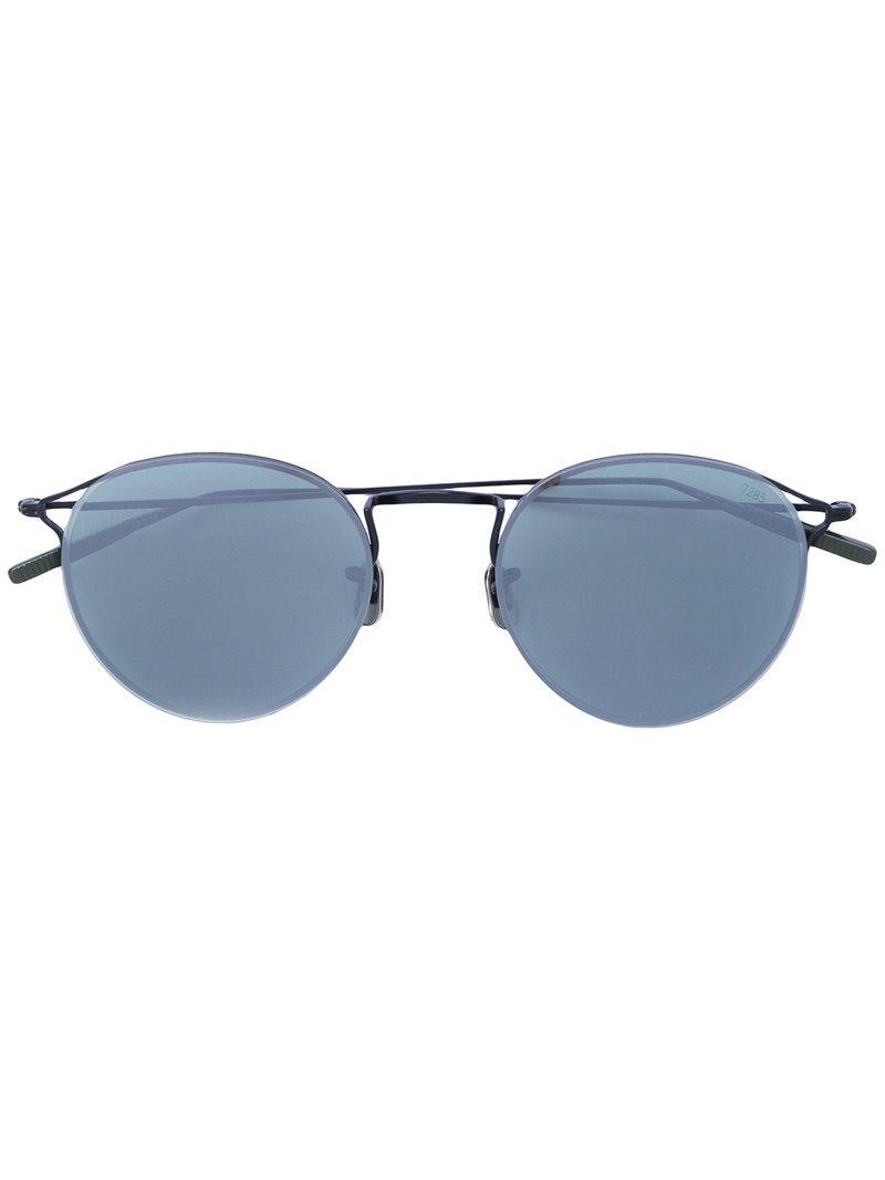 0f9a4729a6 Gafas de sol con montura redonda Eyevan 7285 de color Negro - Lyst