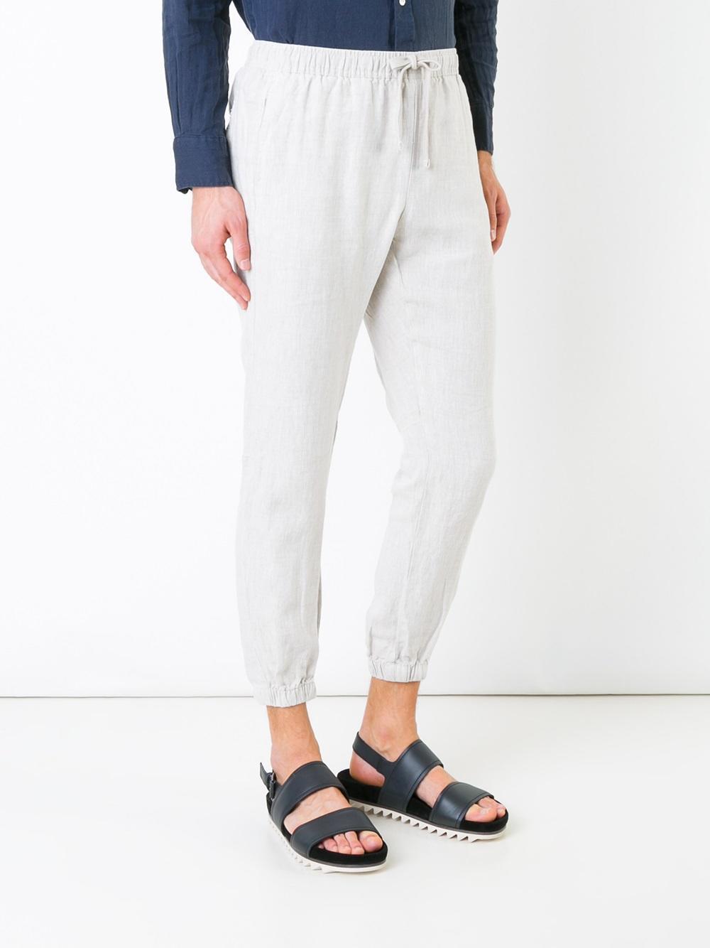 slim-fit Lounge pants - Nude & Neutrals Venroy rngAoztf