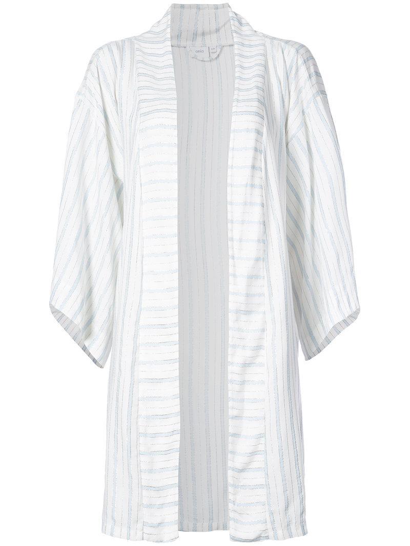 Under 50 Dollars Outlet Explore Gina kimono - Blue Onia Brand New Unisex Online JRAZtvKm22