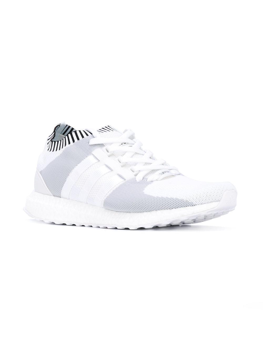Lyst adidas Originals EQT de Apoyo de ultra primeknit zapatillas en blanco