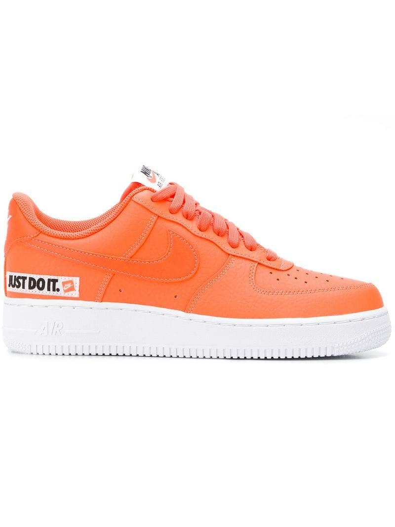 superior quality 59c2a d1213 Nike. Men s Yellow Air Force 1 Trainers