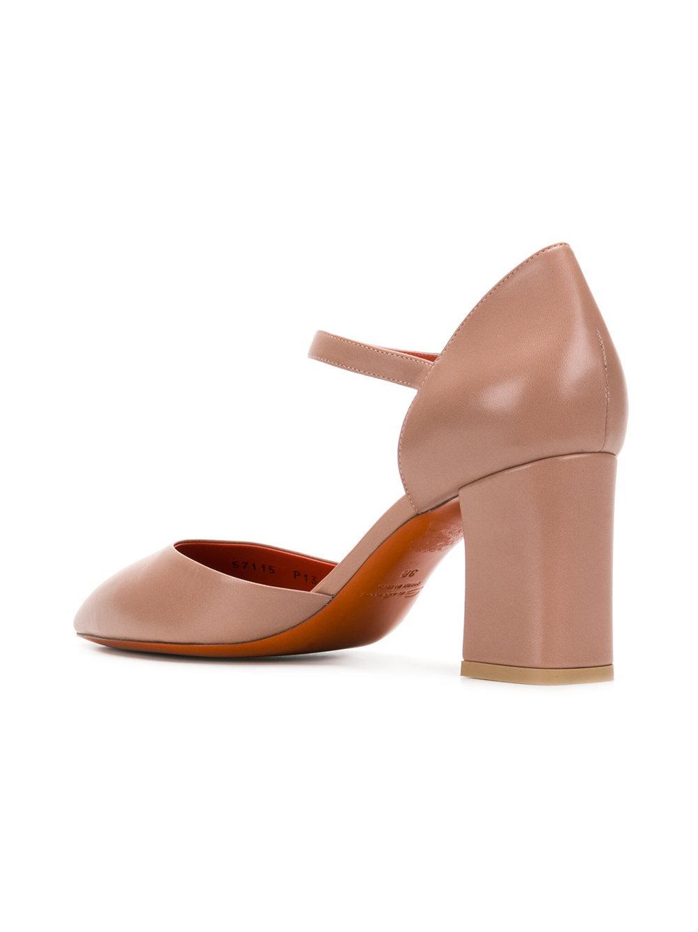 pointed-toe pumps - Nude & Neutrals Santoni qPgERUdBC