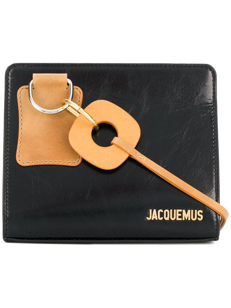 embossed logo shoulder bag - Black Jacquemus Z6tcW