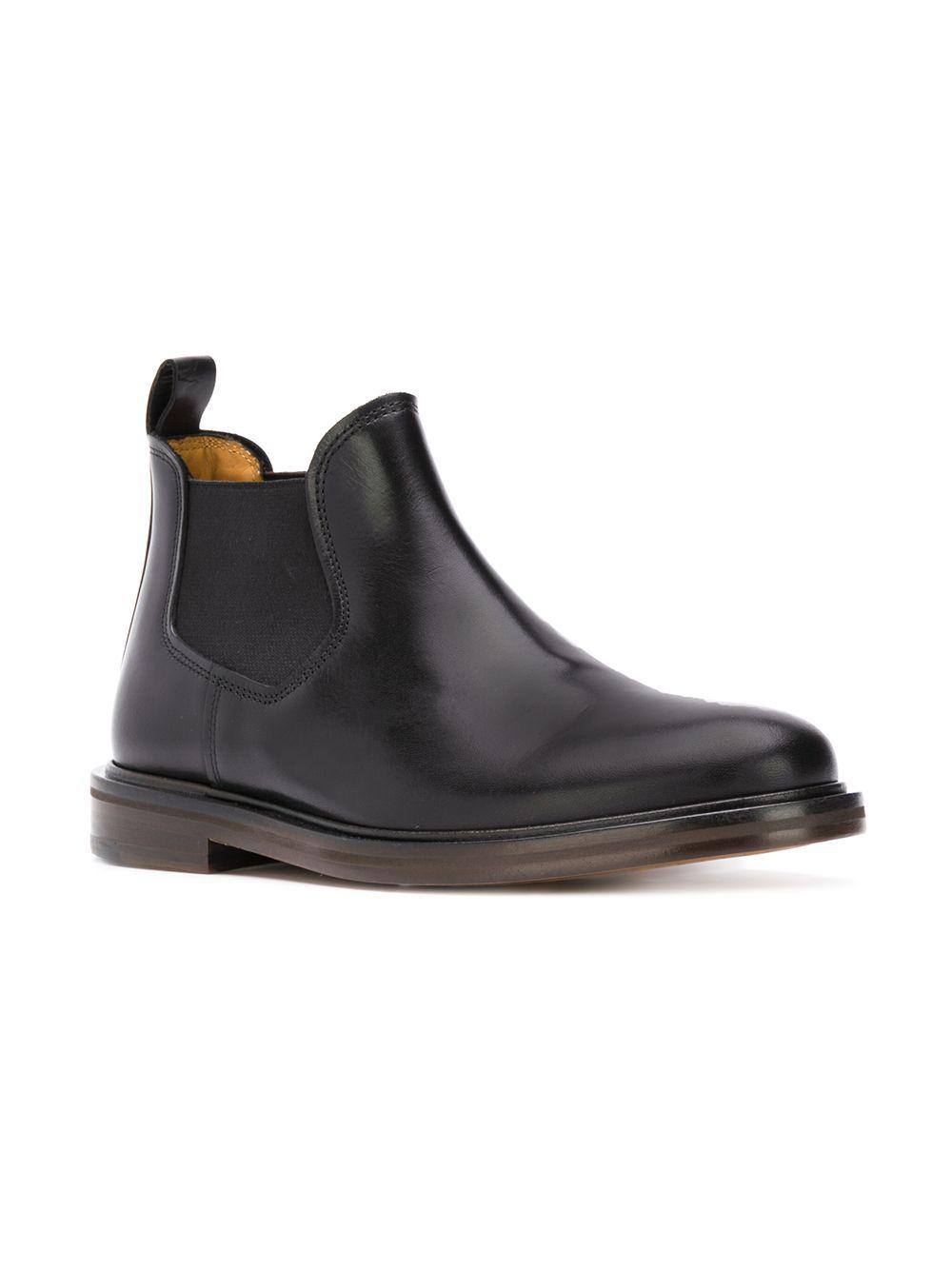 5a1c76f6fee0 Lyst - A.P.C. Classic Chelsea Boots in Black