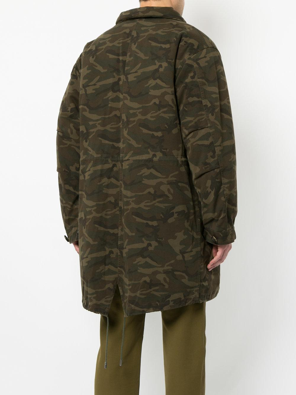 Lined En Lyst Camouflage Yves Men Coat Écran Salomon For Plein Green Afficher Fur qnvqCtZ4w