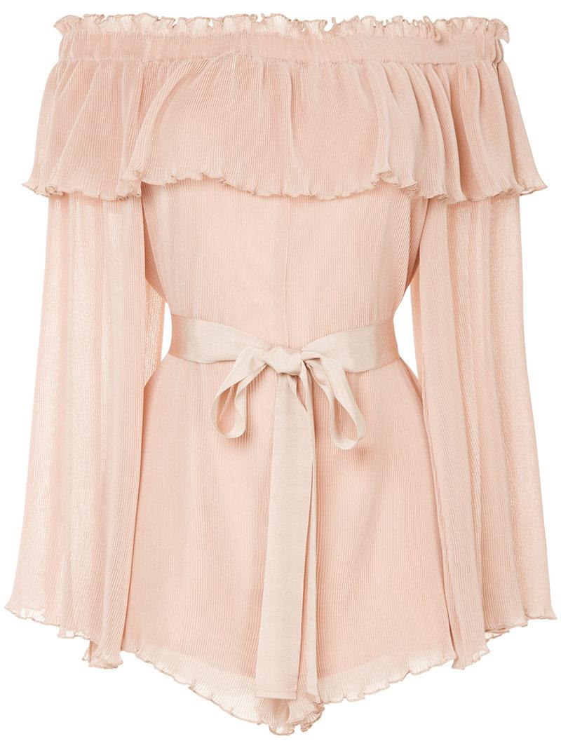 Grand Amour playsuit - Nude & Neutrals Alice McCall New Fashion Style Of Clearance Very Cheap Best Wholesale Sale Online Outlet Locations Sale Online Buy Cheap High Quality Edd9bGj318