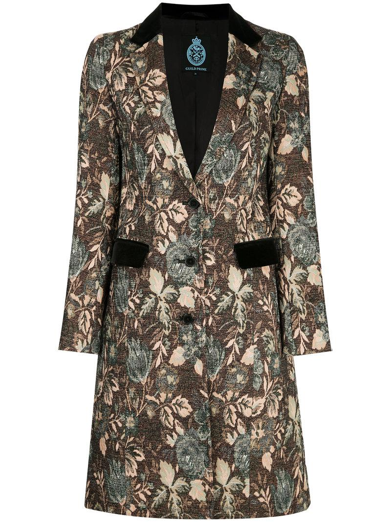 Guild Prime floral swing coat Clearance Clearance wGliJG4