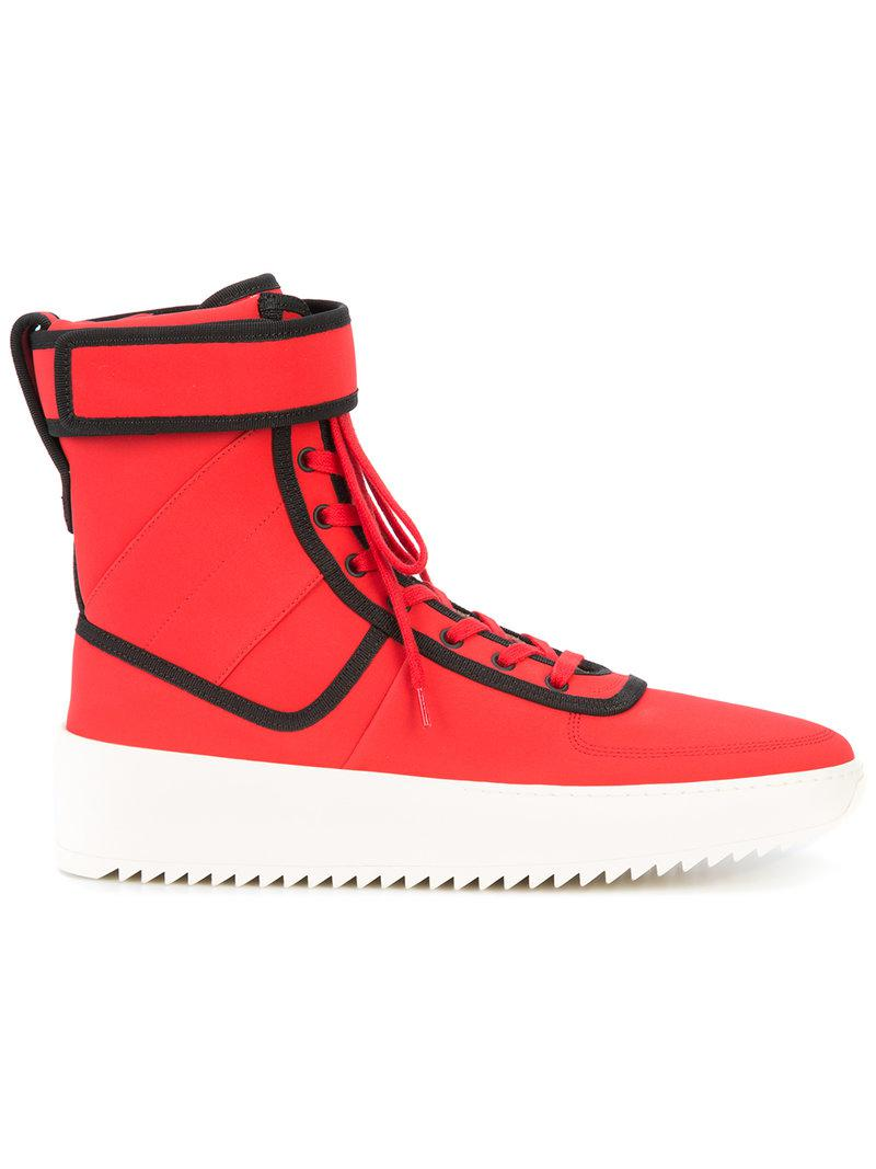 Fear Of God Shoes Red