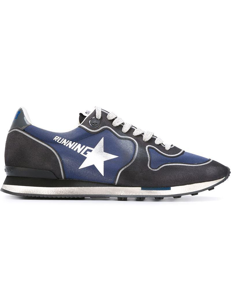 Golden Goose Deluxe Brand 'running' Sneakers in Black for Men - Lyst