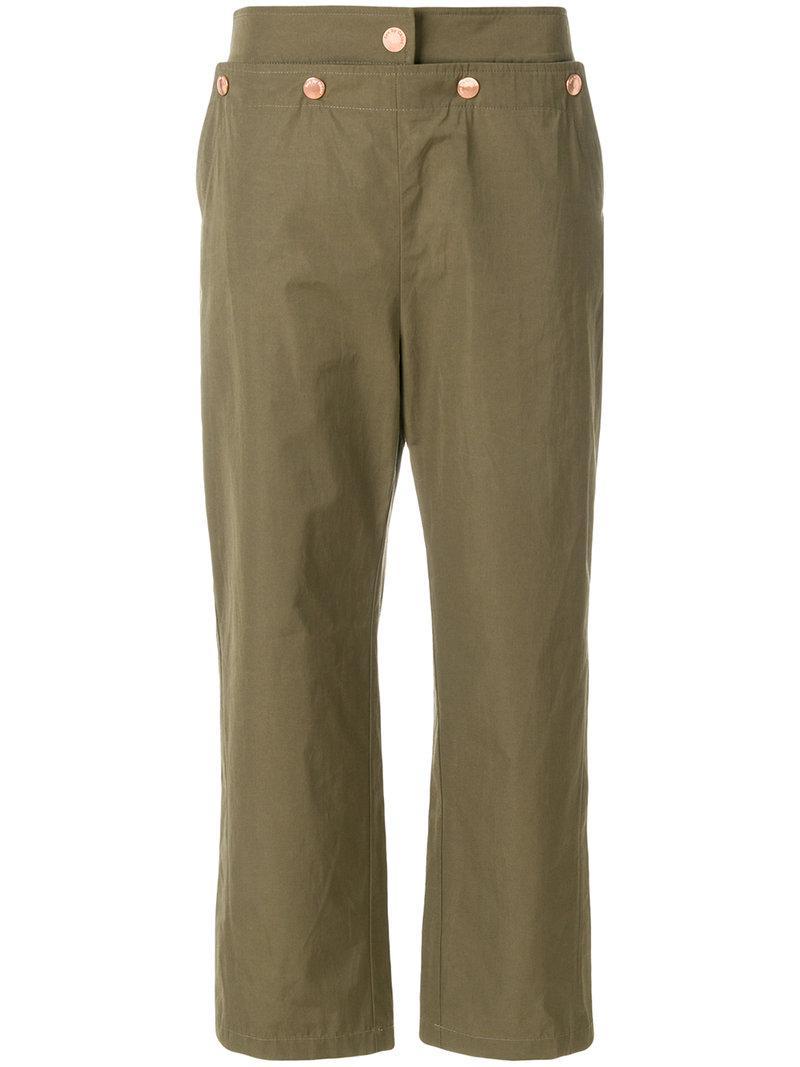 Chloé Pantalon de jogging taille mi-haute en jersey dBdbn5pRY