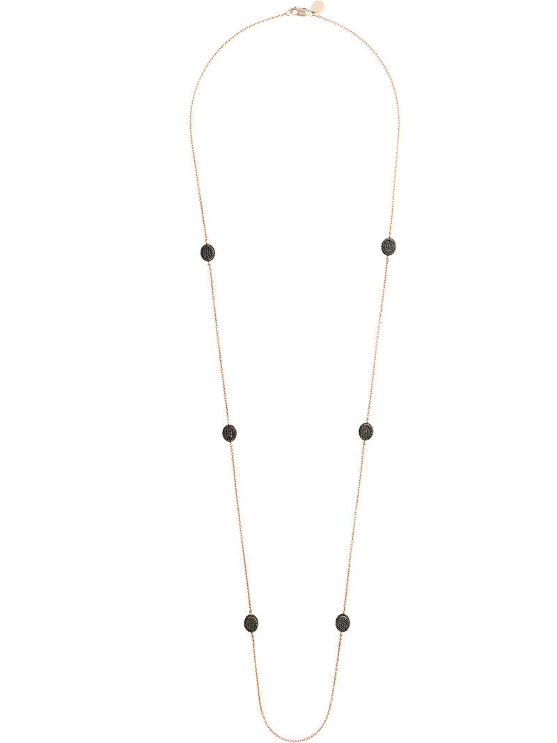 Maha Lozi Peas In A Pod necklace - Black
