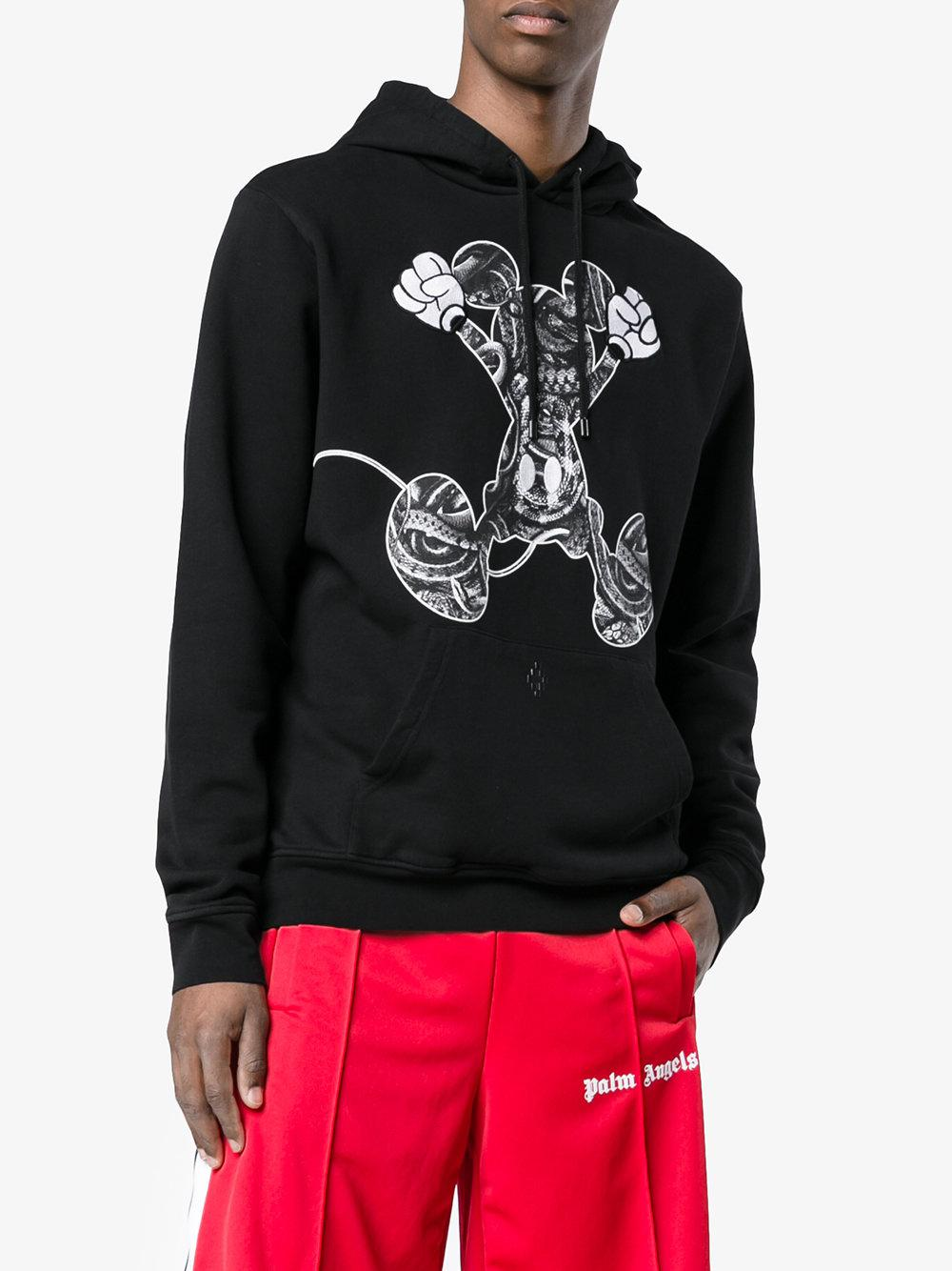 Sudadera Mickey Mouse con capucha Marcelo Burlon County Of