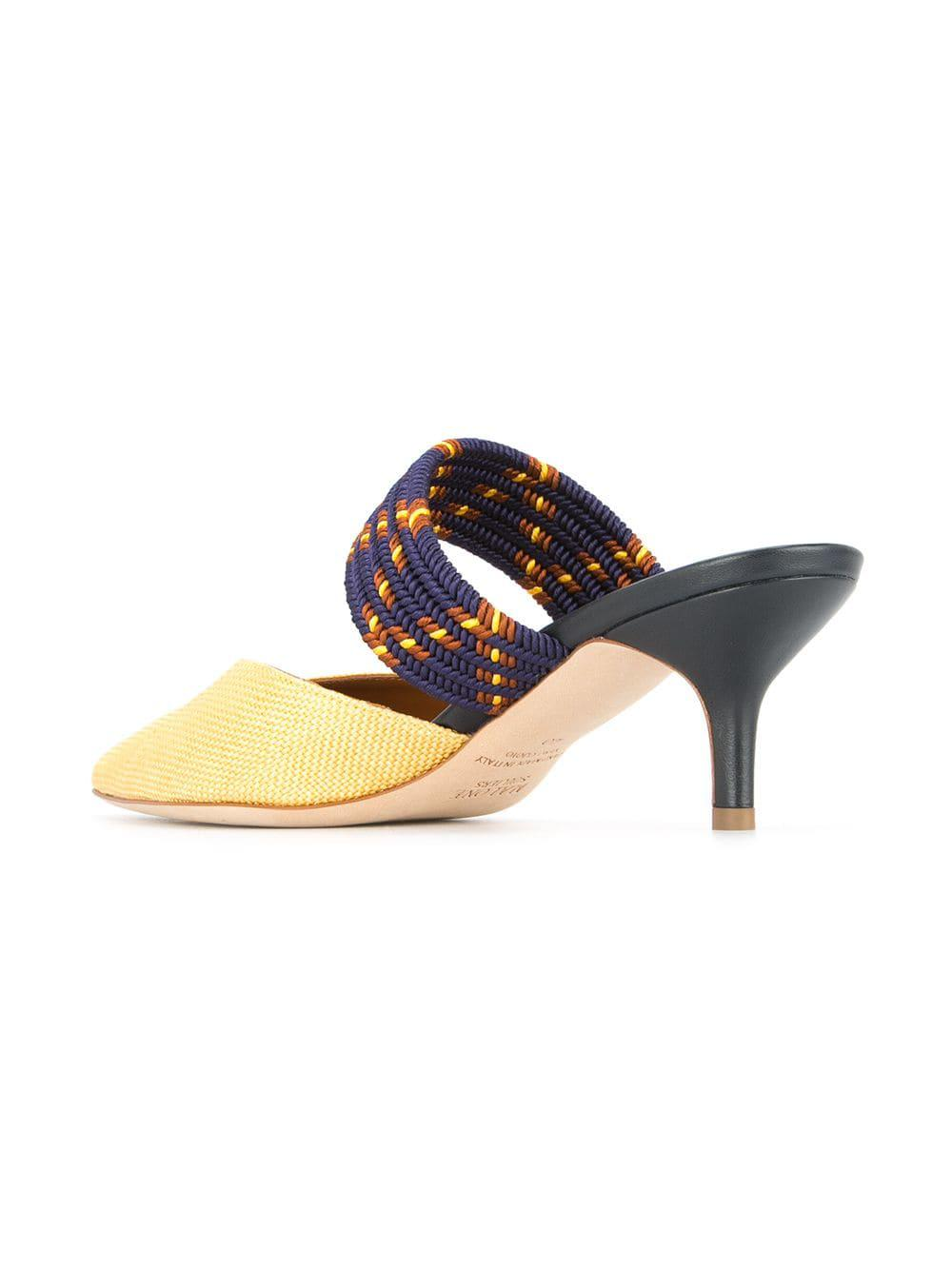 00cf1c0c512 Malone Souliers Maisie Mules in Yellow - Lyst