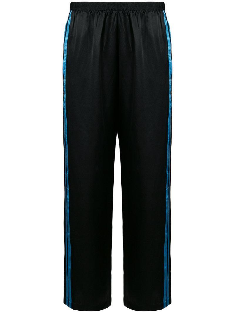 side stripe pyjama pants - Black Morgan Lane Clearance Big Sale Free Shipping Sneakernews s5eai