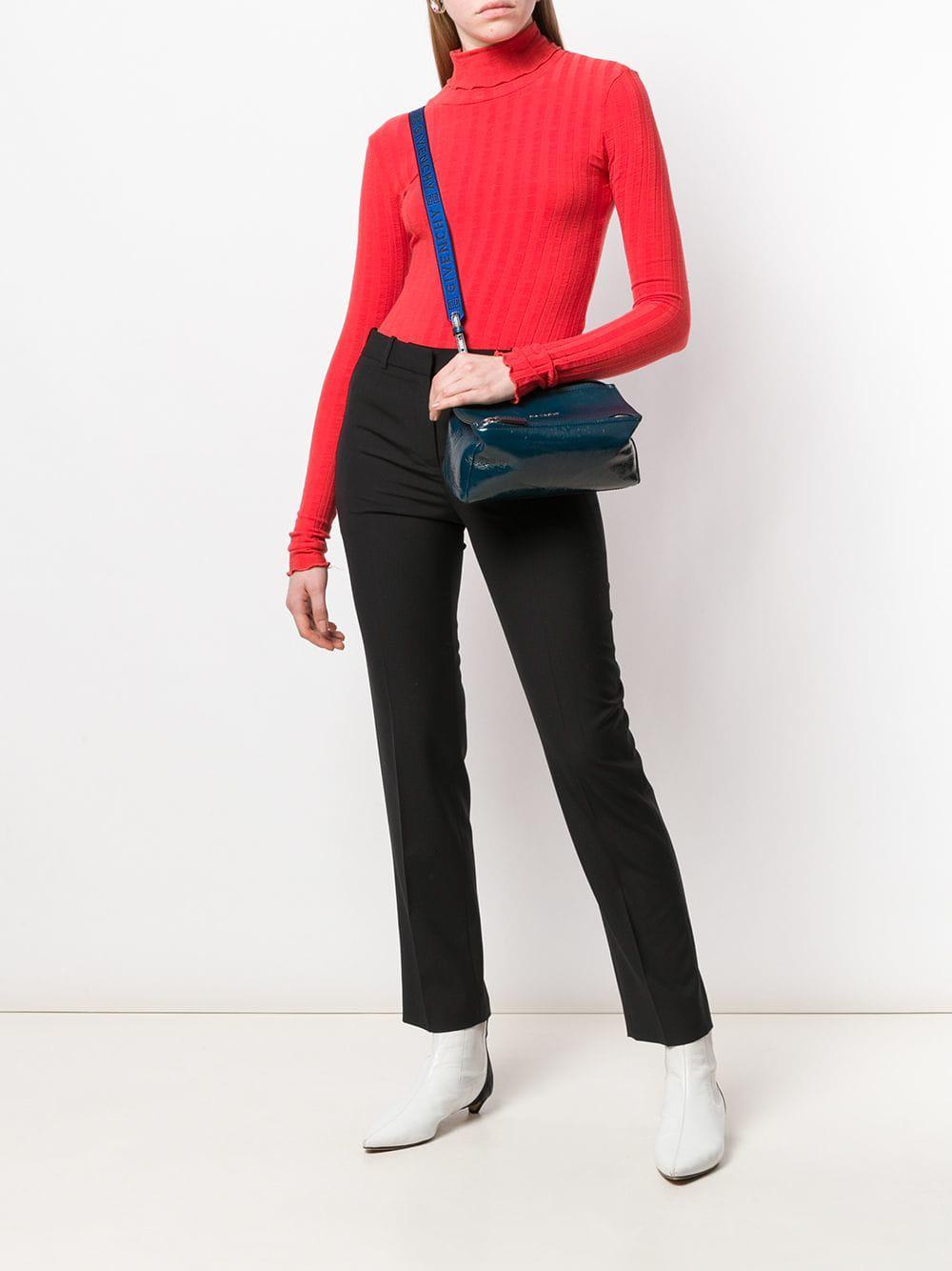 7f09841bbc Givenchy Pandora Mini Crossbody Bag in Blue - Lyst
