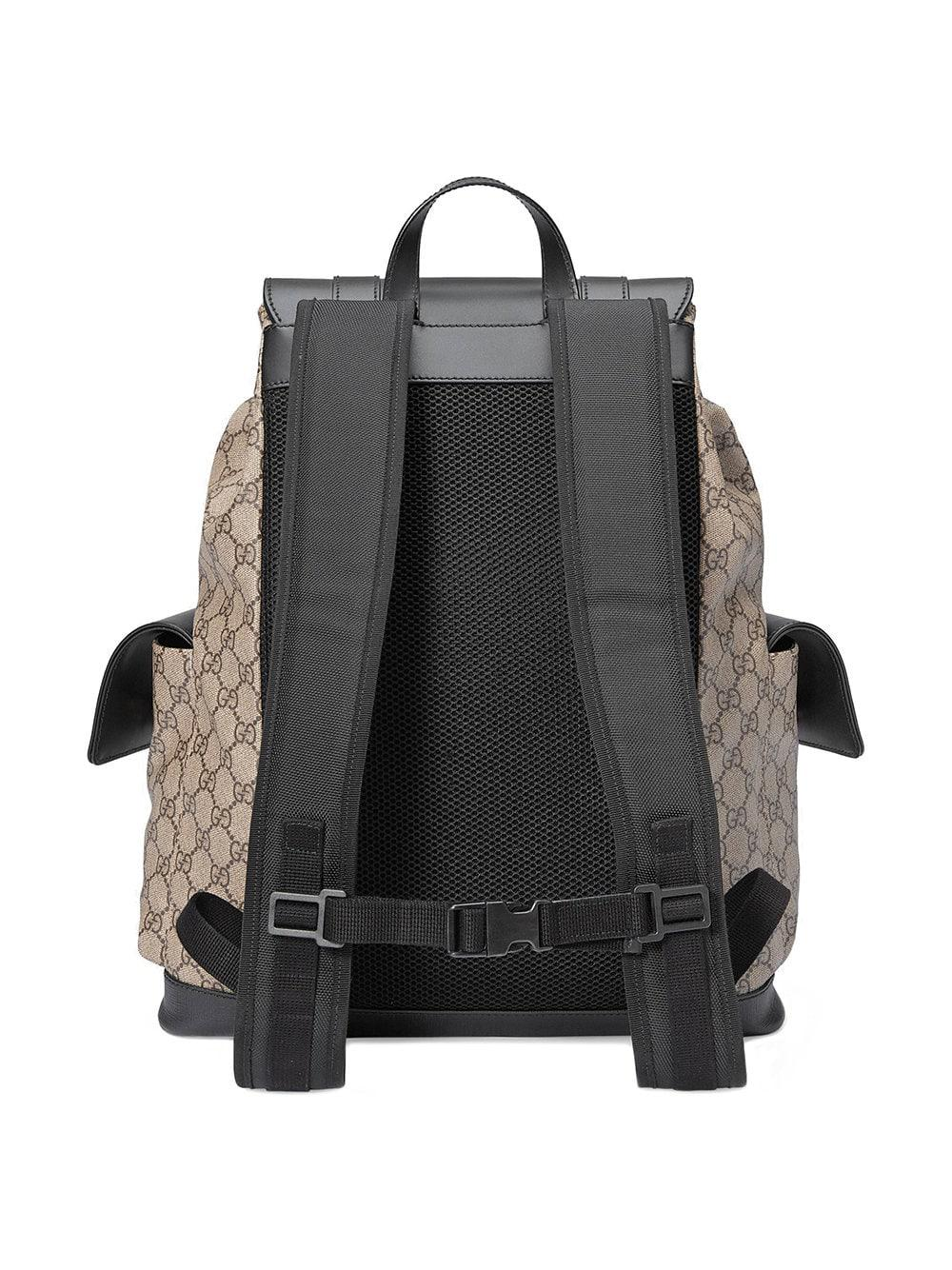 Gucci - Brown Soft GG Supreme Backpack for Men - Lyst. View fullscreen 3a598dfe1f