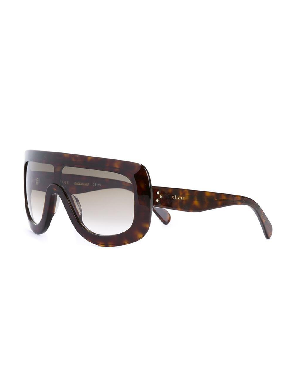 713f4c814b43 Céline  adele  Sunglasses in Black - Lyst