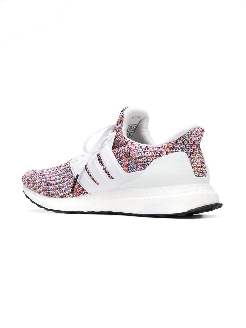 6560daa2da2d6c Adidas - White Ultra Boost 4.0 Sneakers for Men - Lyst. View fullscreen