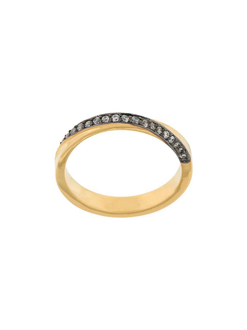Maha Lozi Que Sera ring - Metallic AsEmGc