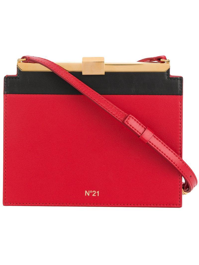 mini shoulder bag - Red N PzUDYsNde