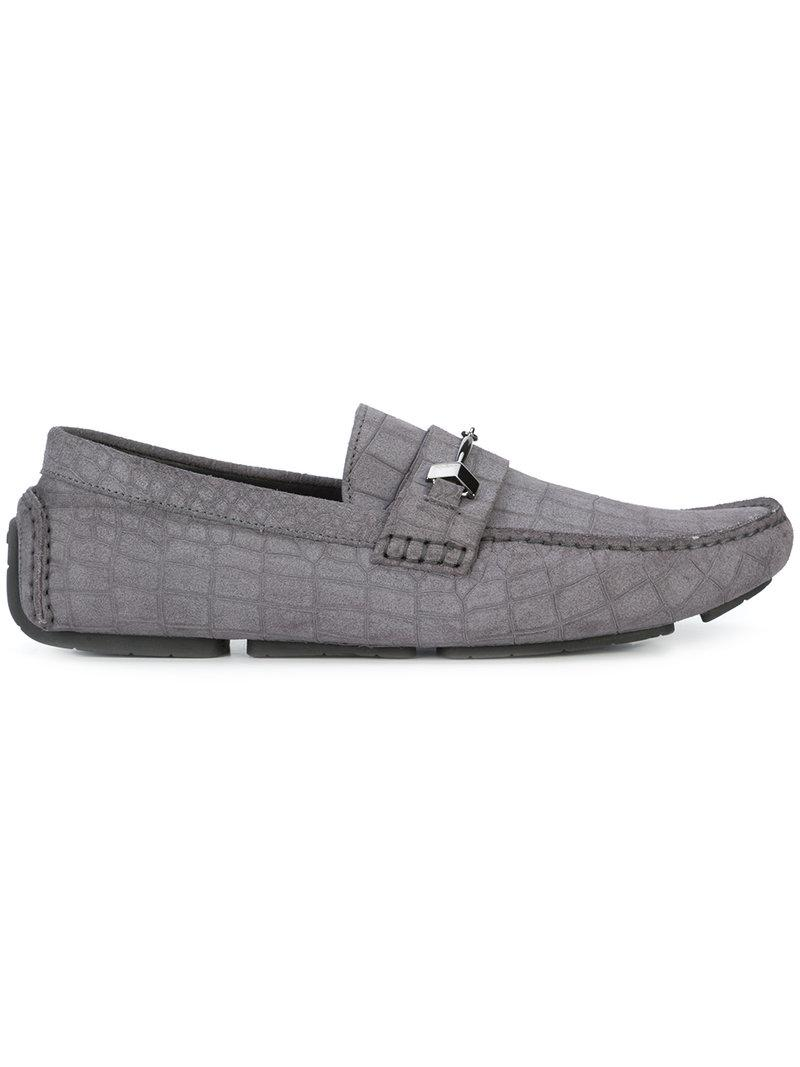 ac77e1c3e13 Lyst - Jimmy Choo Brewer Driving Shoes in Gray for Men