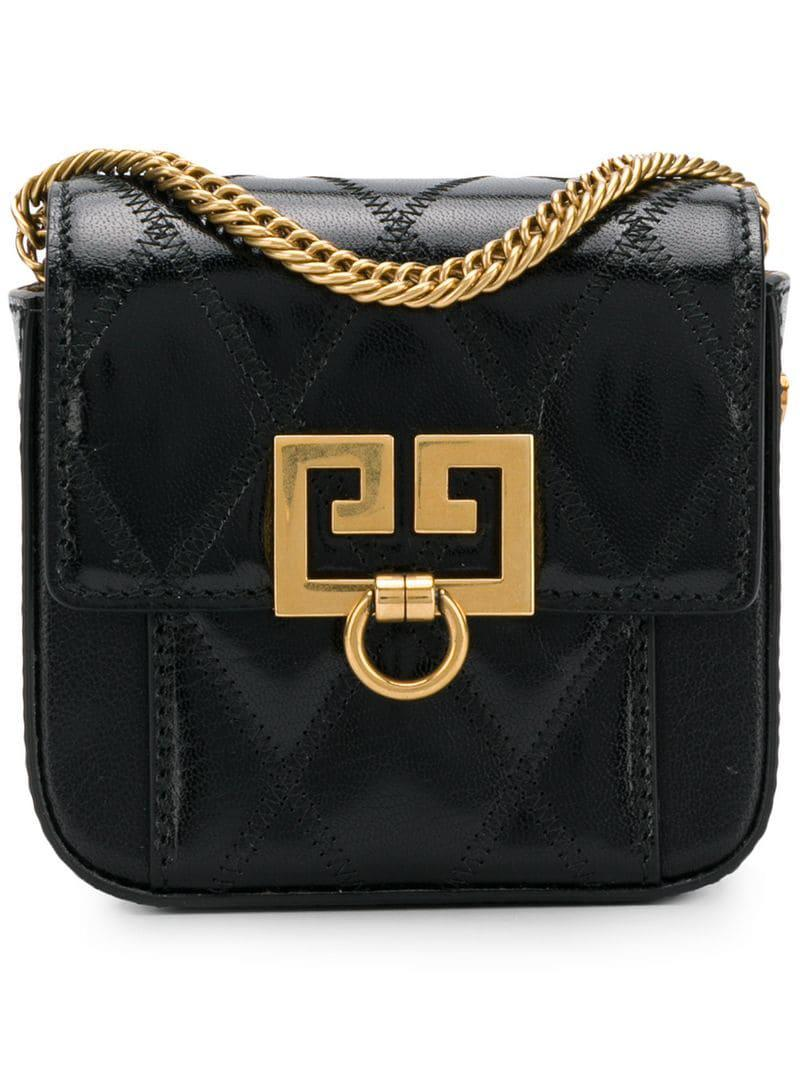 0ccc75a8ad3b Lyst - Givenchy Nano Pocket Pouch in Black