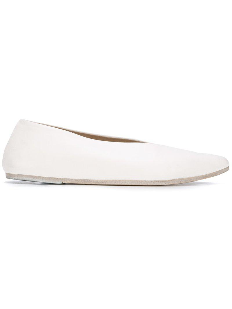 Free Shipping Fashion Style pointed toe loafers - White Marsèll Affordable Sale Online Cheap Sale Perfect Cheap Best Sale 7Nthh