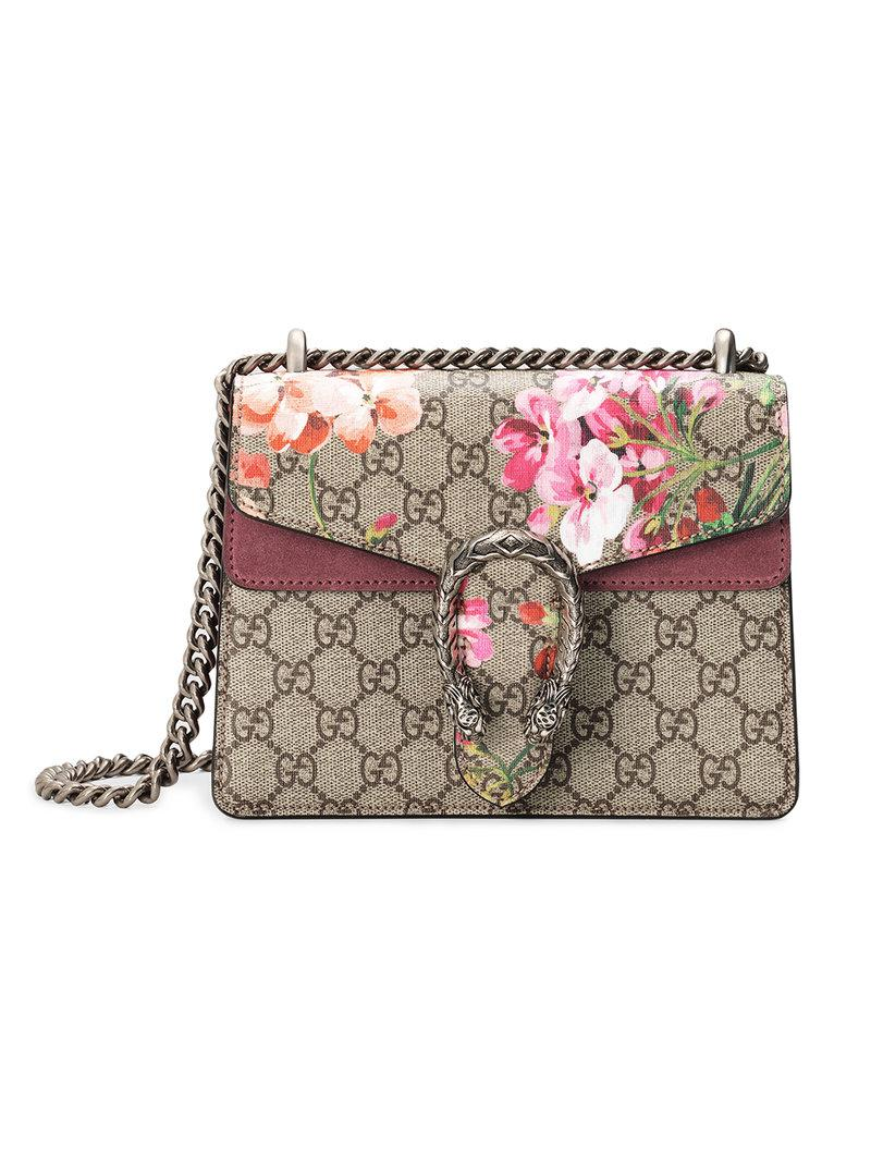 ef69a39dd2f Gucci. Women s Dionysus Gg Blooms Mini Bag