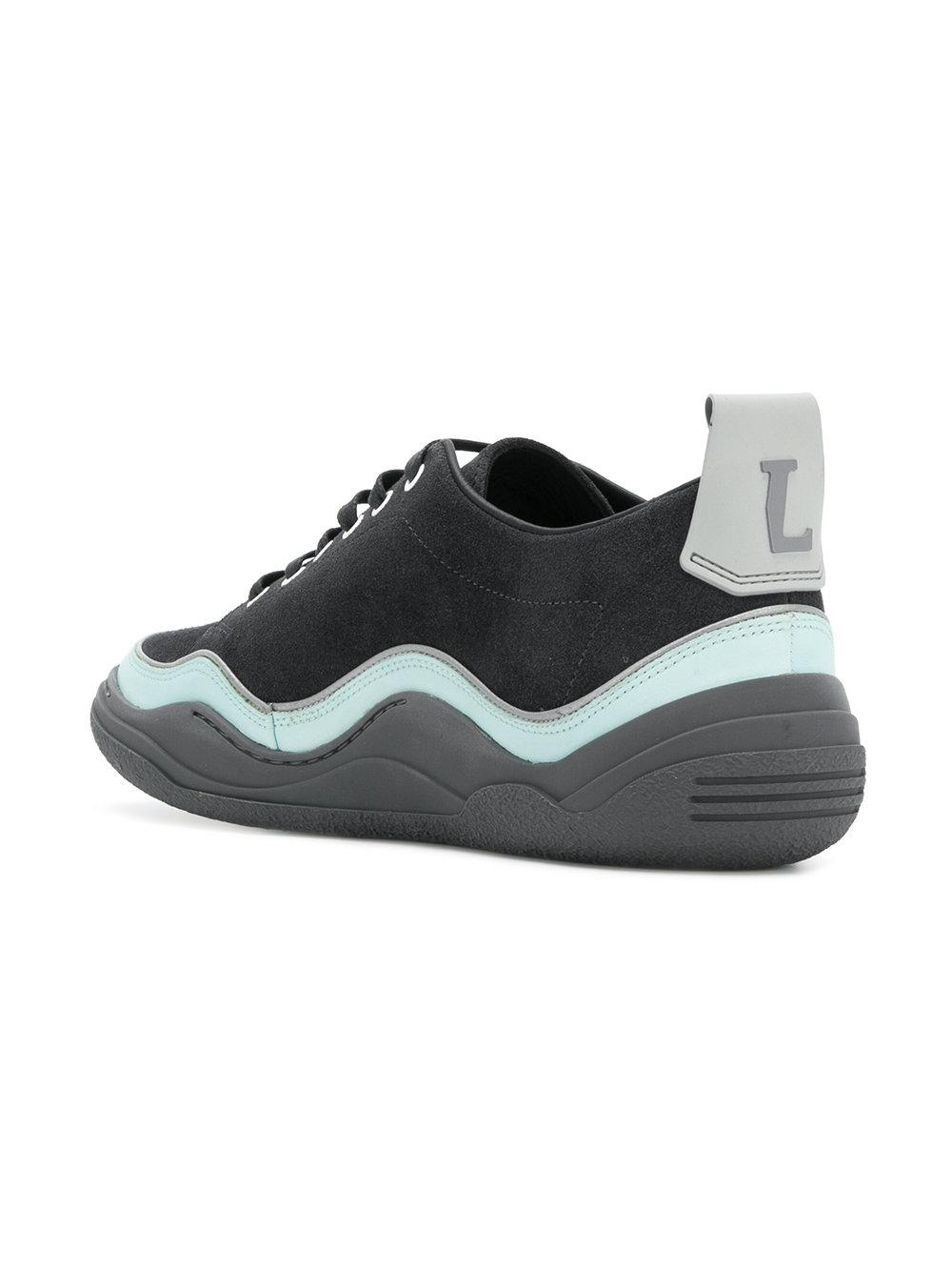 textured runner sneakers - Blue Lanvin CZmXcrB