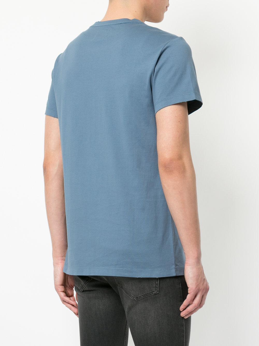 Curwen Men Crest Blue Print amp; Kent Lyst For In Shirt T Lion zE4PITq