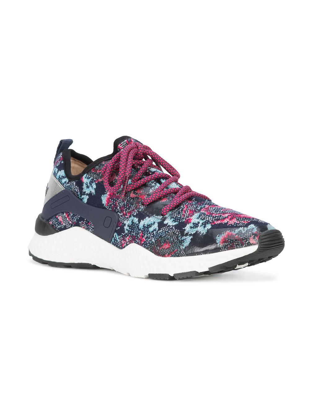 Marc Cain Floral knitted sneakers uPjy5ZO