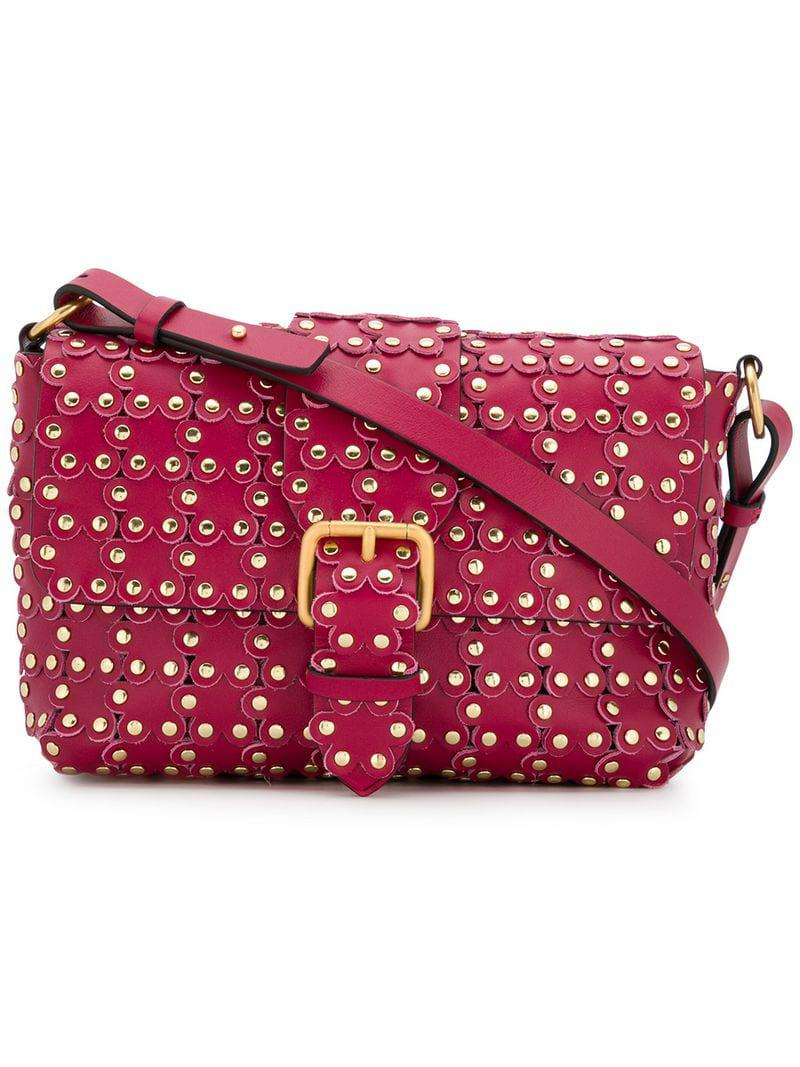 ad961674e641e RED Valentino Red(v) Flower Puzzle Shoulder Bag in Pink - Lyst