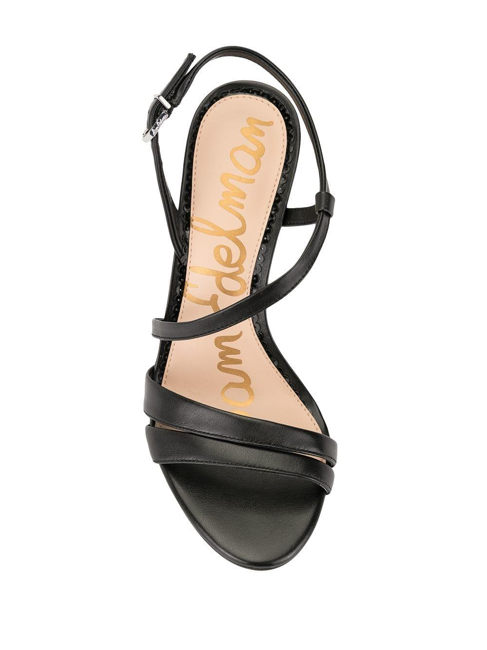 153b44342ee Sam Edelman - Black Alessandra Strappy Heeled Sandals - Lyst. View  fullscreen