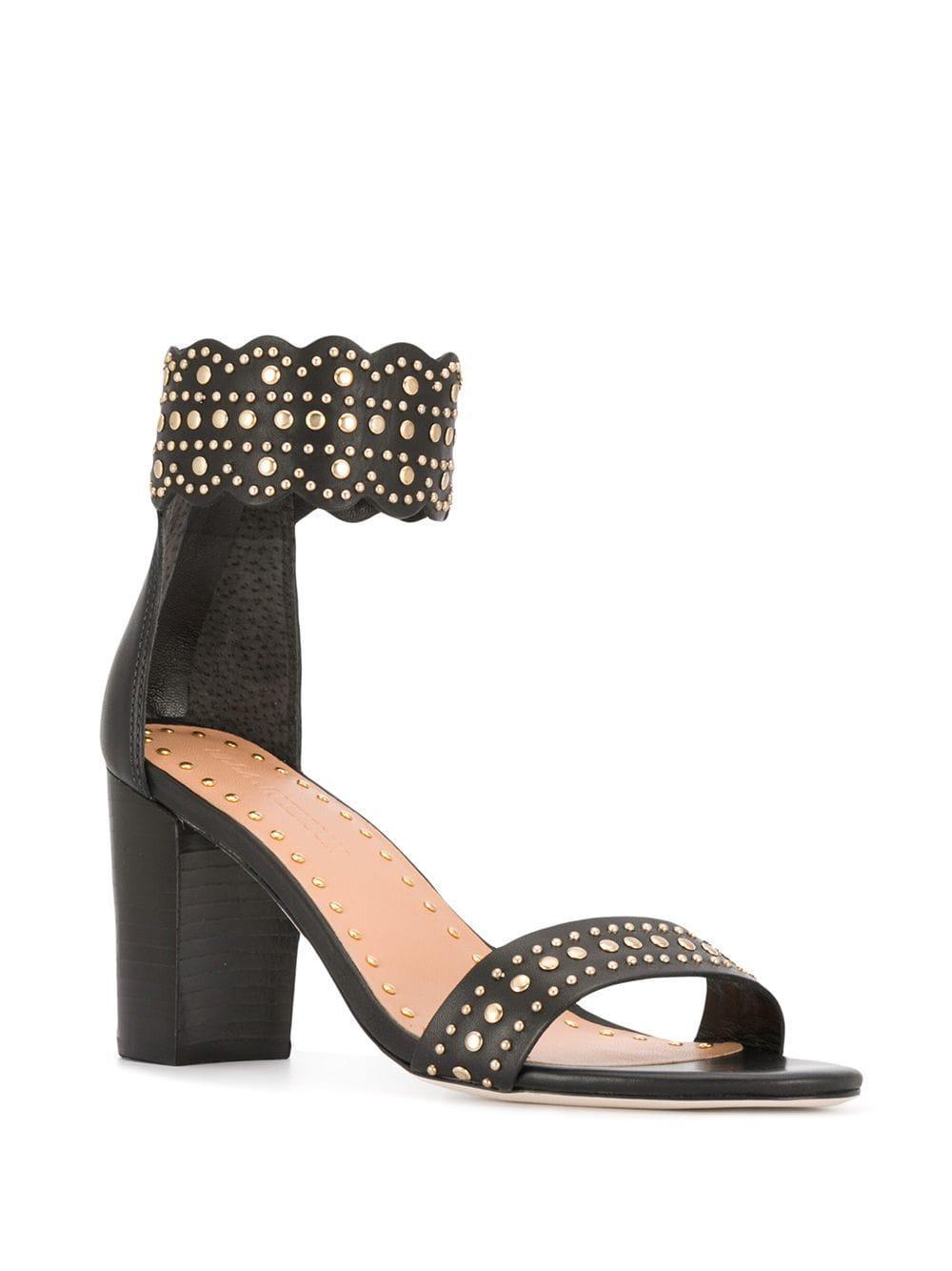 b5b11f284302 Lyst - Ulla Johnson Solange Sandals in Black