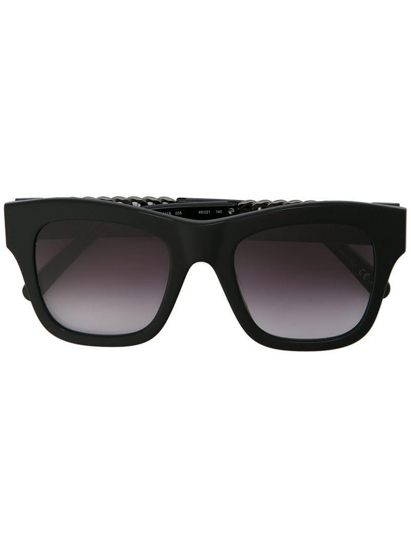28bee799b2 Gafas de sol Havana Falabella Square Stella McCartney de color Negro ...